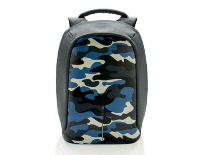 Рюкзак для ноутбука до 14 дюймов XD Design Bobby Compact Print (синий)