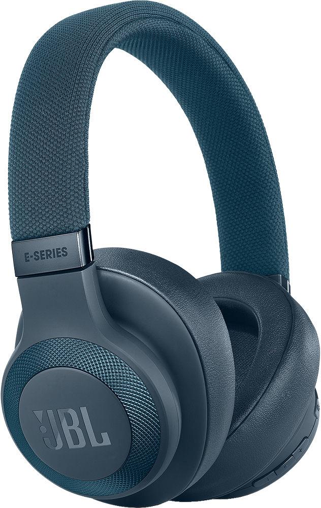 Bluetooth-наушники JBL E65BTNC с микрофоном (Blue)
