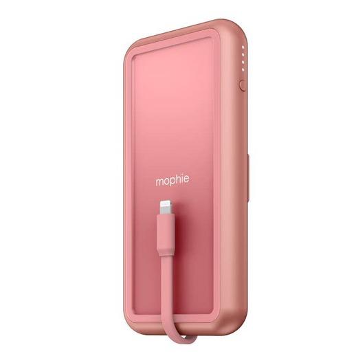 Внешний портативный аккумулятор Mophie Universal Battery Powerstation Plus Wireless with PD с функцией беспроводной зарядки. Емкость аккумулятора: 8 000 мАч