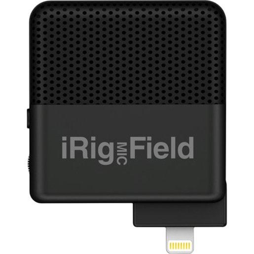 Стереомикрофон IK Multimedia iRig Mic Field для iOS устройств с разъемом Lightning.