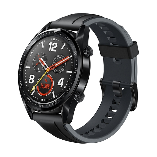 Умные часы HUAWEI WATCH GT Black Silicone Strap