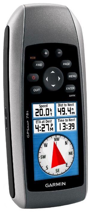 Портативный навигатор Garmin GPSMAP 78S Russia 010-00864-06 (Black)
