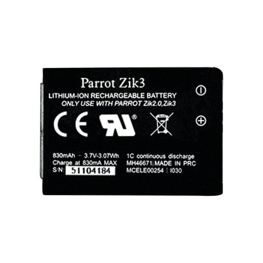 Запасная батарея для наушников Parrot Zik 2.0 и Zik 3. Емкость 830 мАч, тип: литий-ионный.
