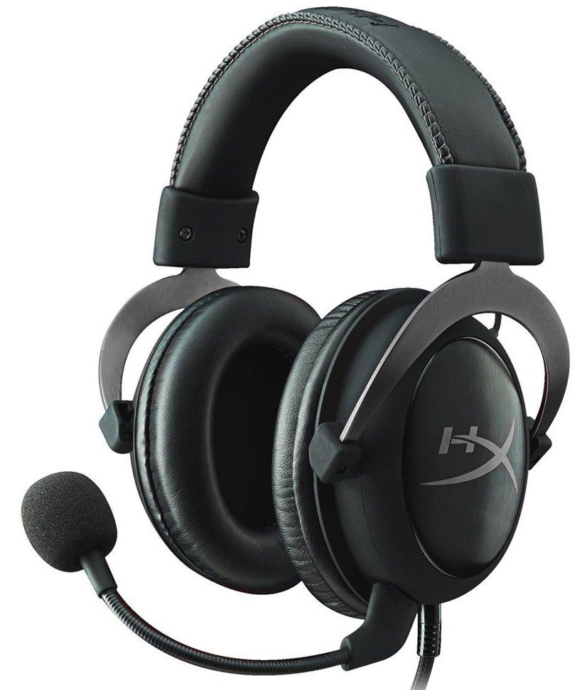 HyperX Cloud II (KHX-HSCP-GM) - полноразмерные наушники (Gun Metal)