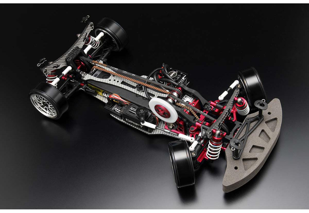 YOKOMO Шасси дрифт 1/10 - Drift Package A-arm DIB Red Color ver.