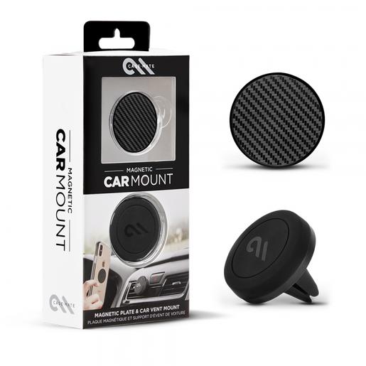 Автомобильный магнитный держатель Case-Mate для смартфона. Цвет черный.