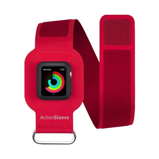 Twelve South Action Sleeve Armband для Apple Watch 38mm. Цвет красный.