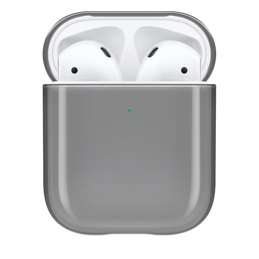 Чехол Incase Clear Case для для наушников Apple AirPods. Материал пластик. Цвет прозрачный черный.