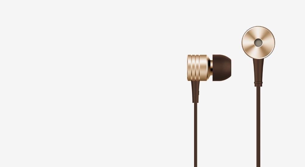 Стерео-наушники 1MORE E1003 Piston Classic In-Ear Headphones (1MEJE0009)  Silk Gold