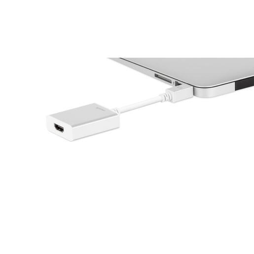 Moshi адаптер Mini DisplayPort to HDMI. Поддержка 4К. Цвет серебряный.