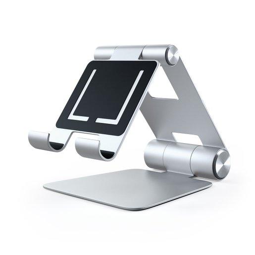 Настольная подставка Satechi R1 Aluminum Multi-Angle Tablet Stand для мобильных устройств.Материал алюминий. Цвет серебряный.