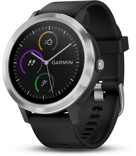 Умные часы Garmin Vivoactive 3 010-01769-02 (Black/Steel)
