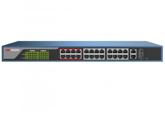 Hikvision Веб-управляемый PoE-коммутатор DS-3E1326P-E