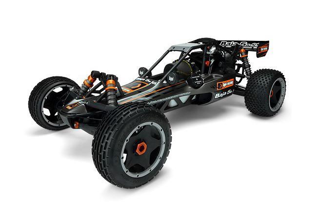 HPI Racing Радиоуправляемая машина Багги 1/5 бензиновая - BAJA 5B SS KIT (набор для сборки шасси с двигателем 26куб см2) (NEW)