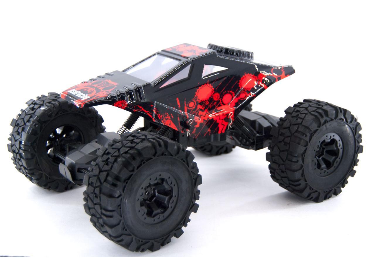BSD Радиоуправляемая машина Трофи 1/10 электро Big Rock 4WD (2 скорости) Trophy Crawler