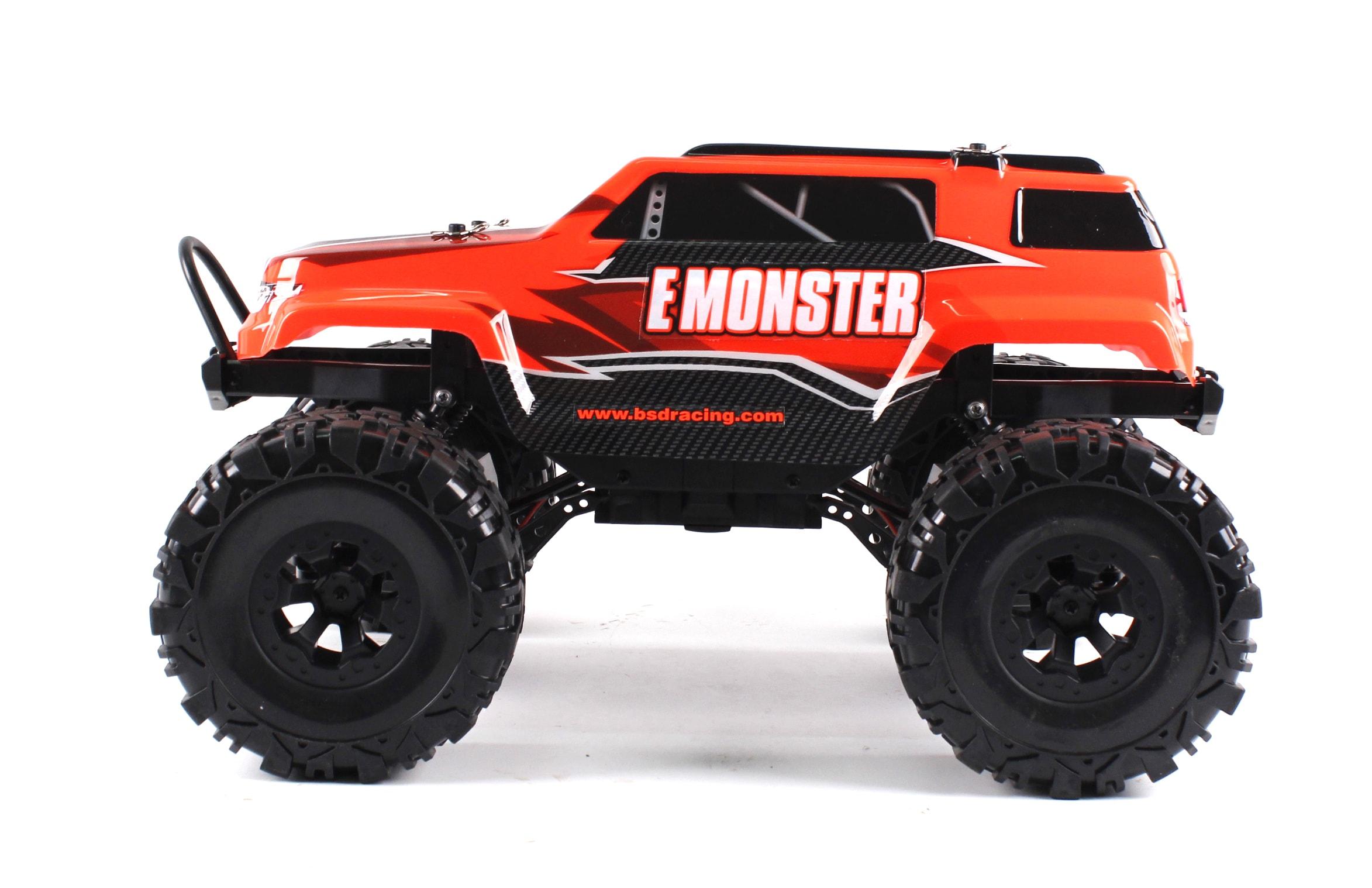 BSD Радиоуправляемая машина Трак 1/10 4WD E-Monster электро
