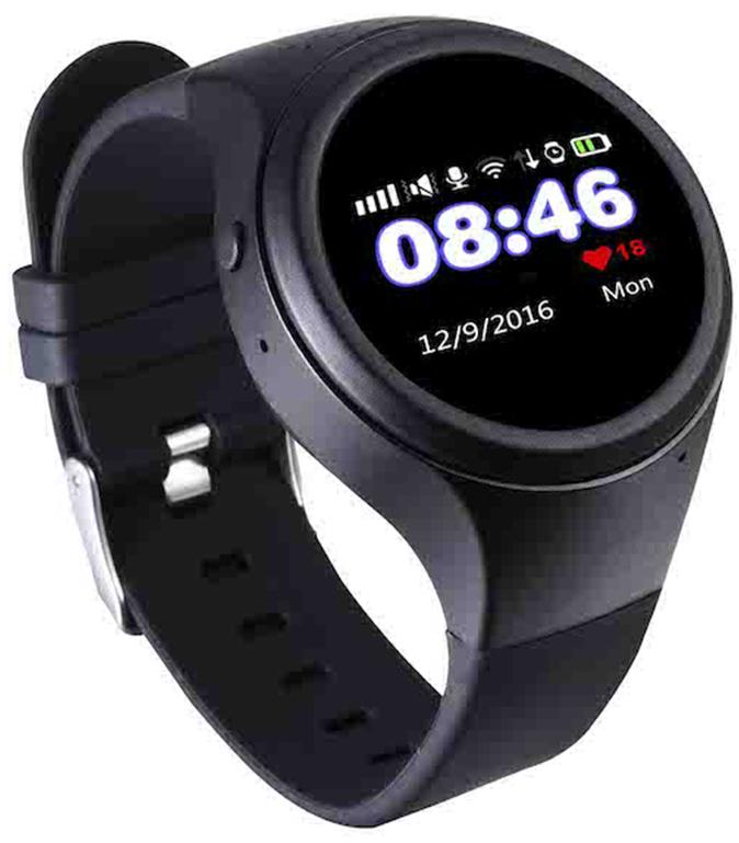 Детские часы-телефон Wochi Zoomix (Black)