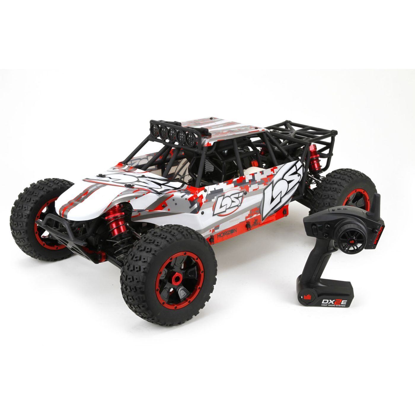 Team Losi Радиоуправляемая машина Багги 1/5 4x4 - Desert Buggy XL:1/5th 4WD RTR