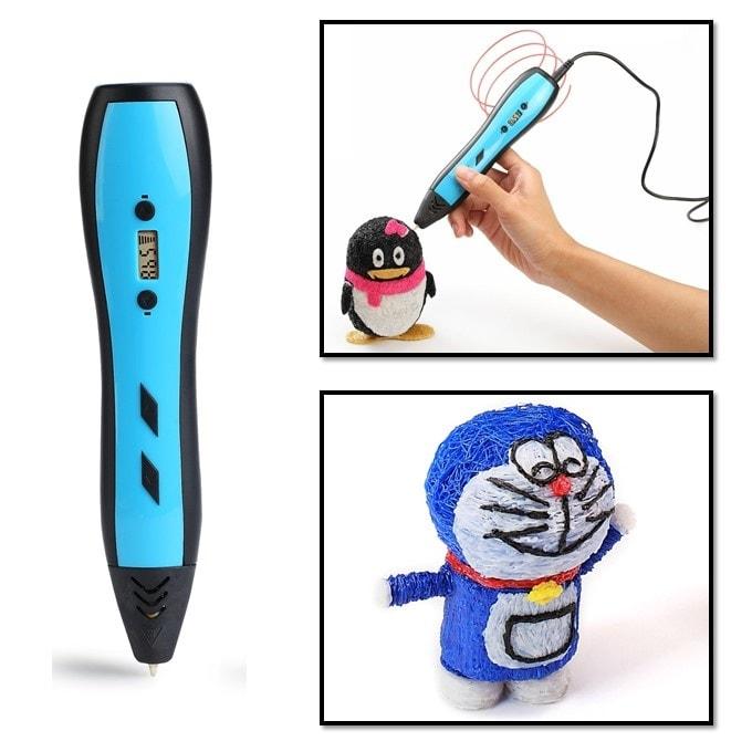 3D ручка LCD экраном Jer RP700A (голубой) | 3D ручки
