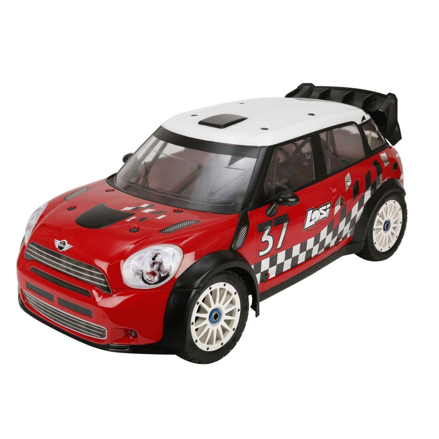 Team Losi Радиоуправляемая машина Ралли 1/5 4x4 - MINI WRC RTR (С системой стабилизации AVC)
