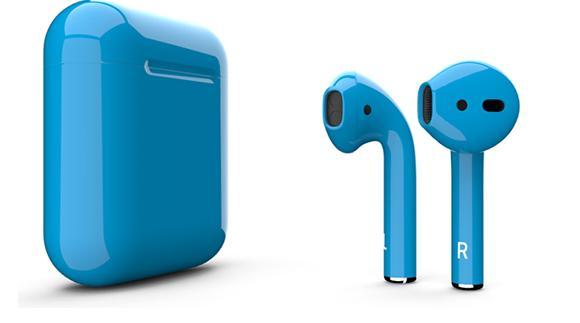 Беспроводные наушники Apple AirPods Color (Gloss Blue)