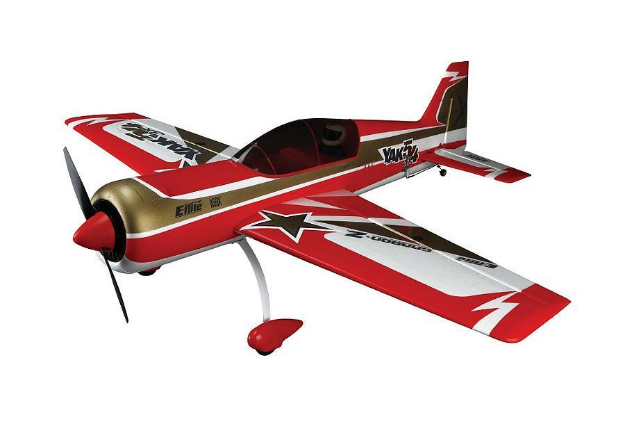 E-flite Радиоуправляемый Самолет - Carbon-Z® Yak 54 3X 1220мм PNP (без ЗУ, акк, передатчика и приемника)