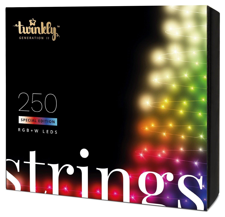Smart-гирлянда Twinkly Strings RGBW 250 (TWS250SPP-TEU)