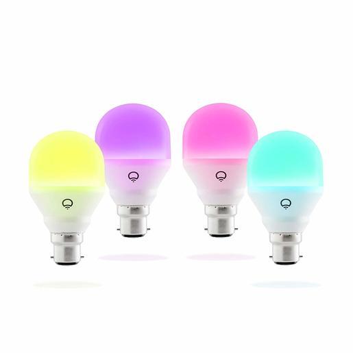 Набор умных светодиодных ламп LIFX Mini Colour A19 4 шт. Цоколь E27.