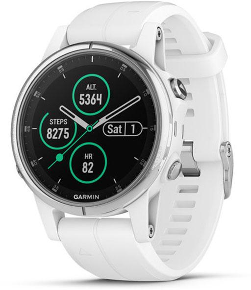 Умные часы Garmin Fenix 5S Plus Sapphire (White)