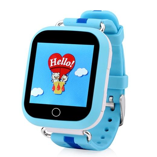 Часы-телефон Кнопка Жизни J118 (9180129) с GPS (Blue)