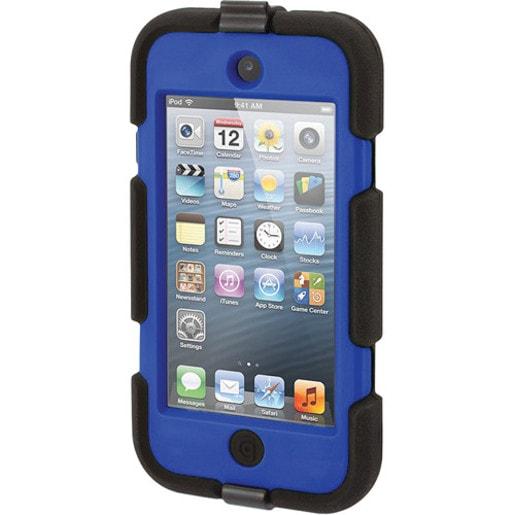 Чехол Griffin Survivor All-Terrain для iPod touch (5th/6th gen.). Материал: прорезиненный пластик. Цвет: черный/синий.
