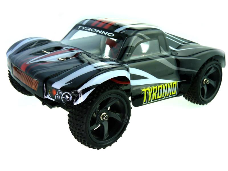 Iron Track Радиоуправляемая машина Шорткорс 1/18 4WD Электро - Iron Track Tyronno RTR