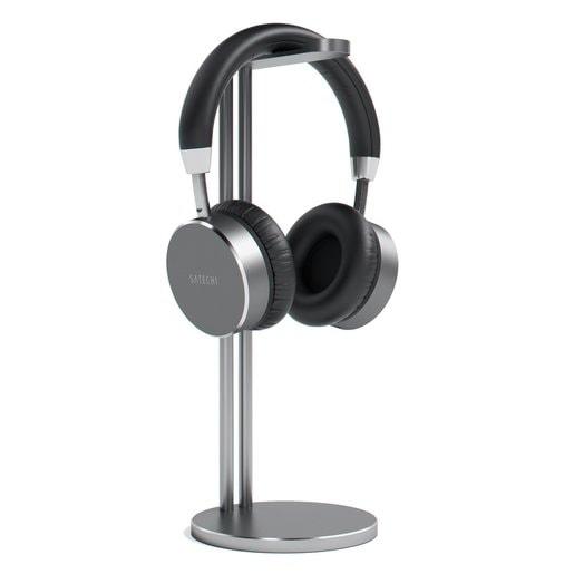 Подставка Satechi Slim Aluminum Universal Headphone Stand для накладных наушников. Материал алюминий. Цвет серый космос.