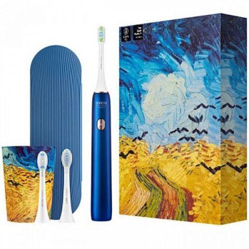 Электрическая зубная щетка Soocas Van Gogh Electric Toothbrush X3U (синяя) SOOCAS X3U Van Gogh Electric Toothbrush Blue