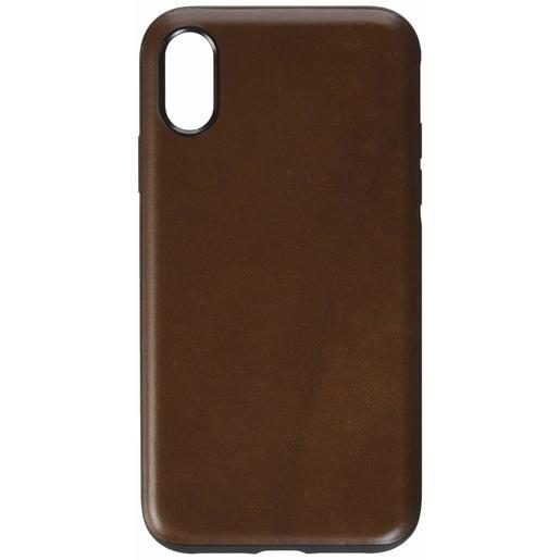 Чехол Nomad Rugged Leather Case V2 для iPhone XR. Материал кожа натуральная. Цвет коричневый.
