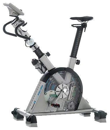 Вертикальный велотренажер Daum Electronic Ergo Bike Premium 8i