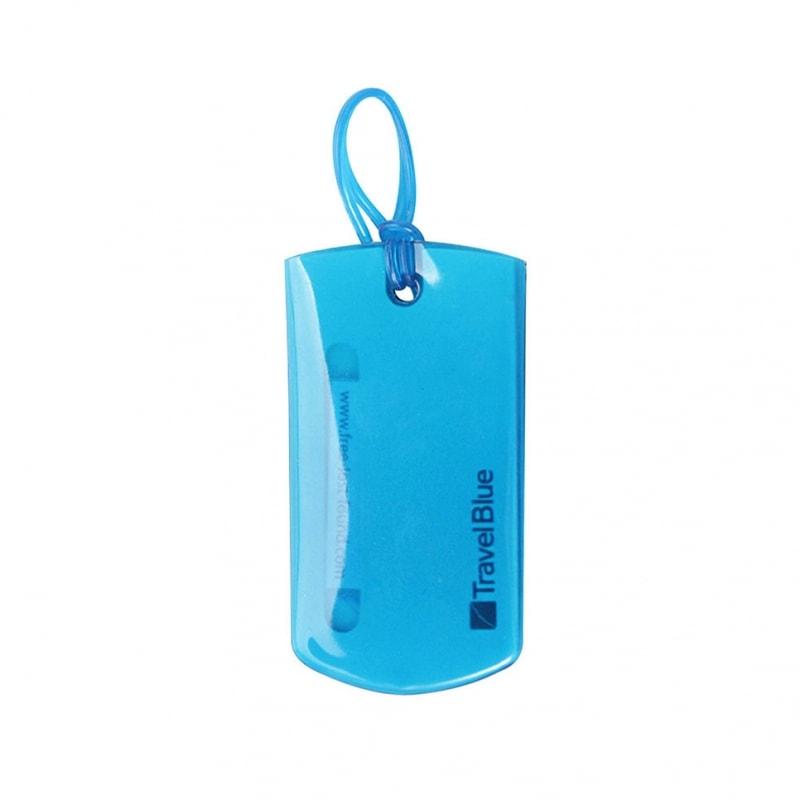 Багажные бирки Travel Blue Jelly ID Tag, цвет синий