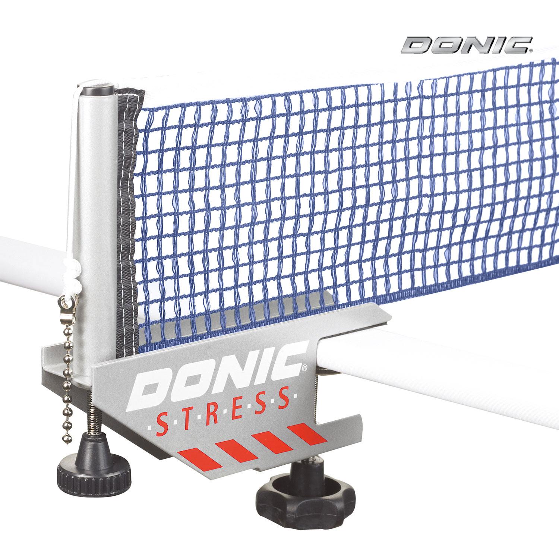 Сетка с креплением Donic STRESS серый/синий
