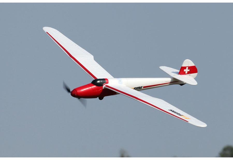 FMS Радиоуправляемый Самолет - Moa RTF 1500мм