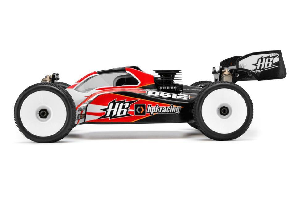 HPI Racing Радиоуправляемая машина Багги 1/8 kit HB D812