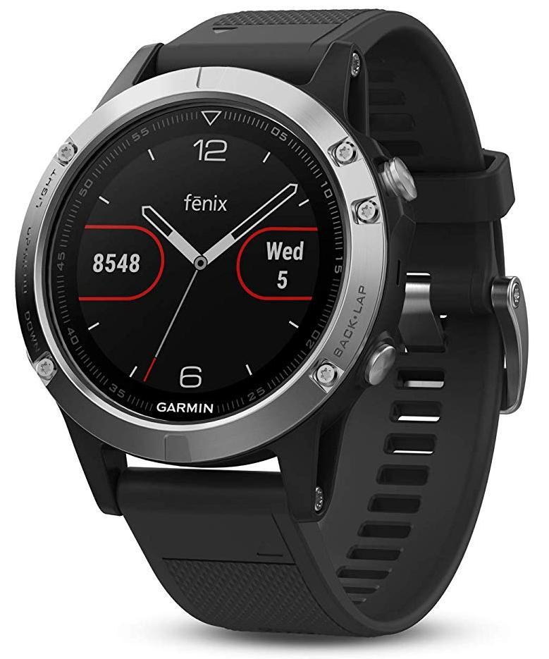 Спортивные часы Garmin Fenix 5 010-01688-03 (Silver/Black)