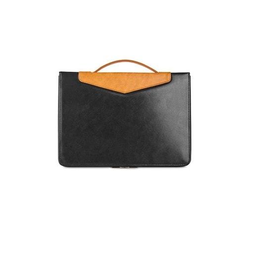 """Сумка Moshi Codex 15 для ноутбука Macbook Pro Retina 15"""" (Thunderbolt 3/USB-C). Материал: веган кожа. Цвет: черный."""