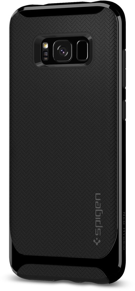 Spigen Neo Hybrid (571CS21651) - чехол для Samsung Galaxy S8 Plus (Shiny Black)