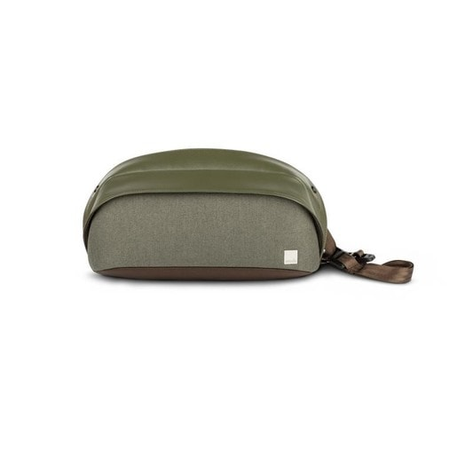 Сумка Moshi Tego Slingpack для iPad mini. Материал полиэстернейлон. Цвет зеленый.