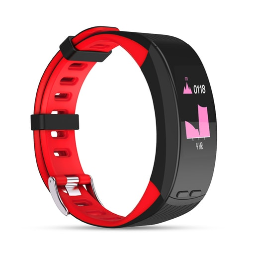 Qumann QSB X Black-Red Фитнес браслет