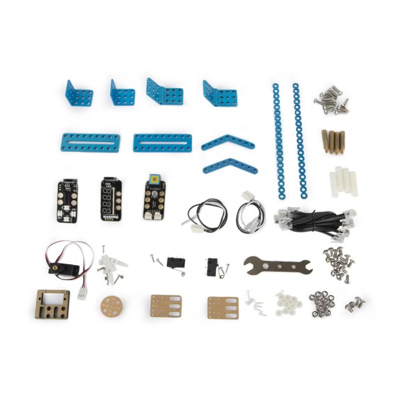 Расширеный базовый робототехнический набор mBot Classroom Kit (mBotV1.1+Gizmos Add-on Packs)
