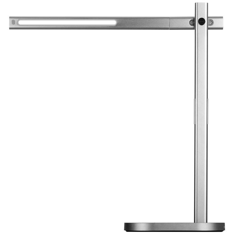 Лампа с беспроводной зарядкой Momax LED Desk Lamp with Wireless Charging Pad (Silver)