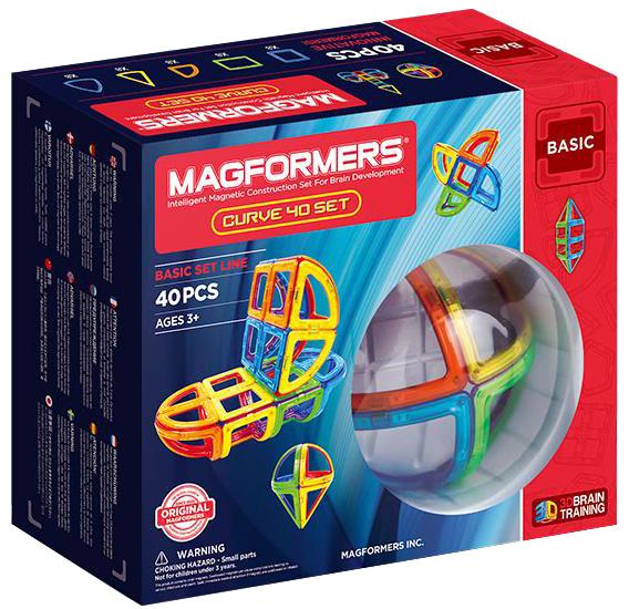 Магнитный конструктор Magformers Curve 40 (701011)