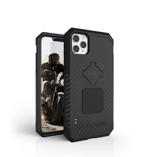 Противоударный чехол-накладка Rokform Rugged Case для iPhone 11 Pro со встроенным магнитом. Материал: поликарбонат. Цвет: черный. Rokform Rugged Case for iPhone 11 Pro - Black