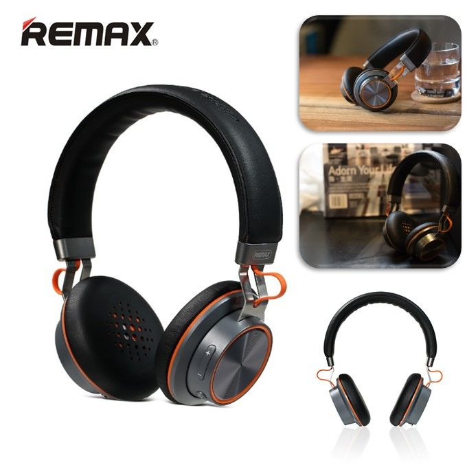 Стереонаушники Bluetooth Remax RB-195HB (черный)
